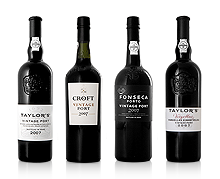 Vintage Port - Croft 2007, Taylors 2007, Fonseca 2007 and Vargellas 2007